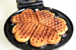 Banana bread waffle_waffle machine