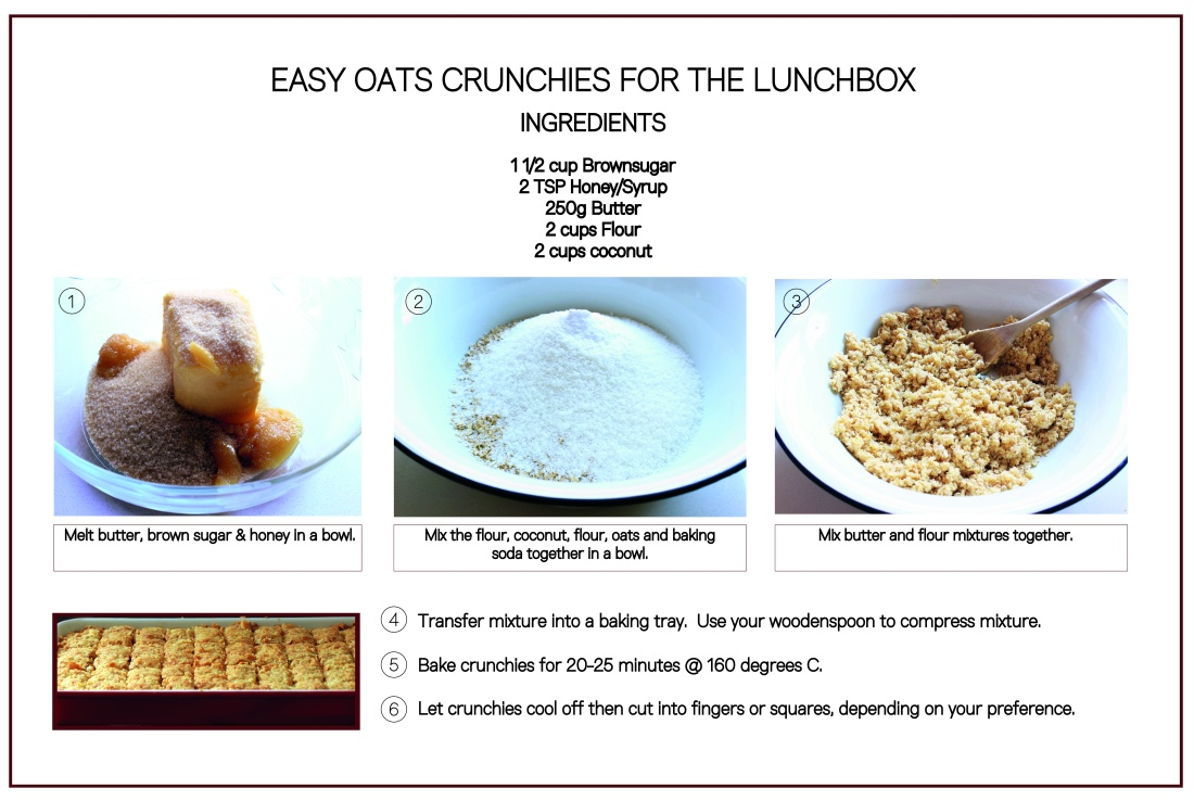 Oats crunchies lunch box recipe-03